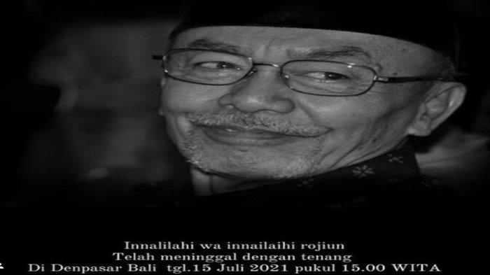 Trenggono, ayah Krisdayanti dan Yuni Shara meninggal dunia