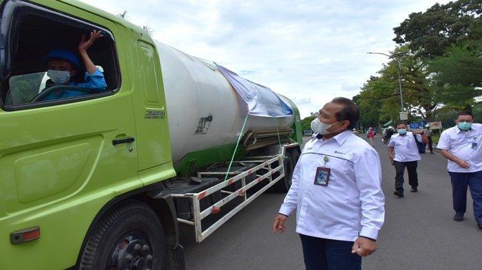 Peduli Covid -19, PUSRI Distribusi 133,52 Ton Oksigen untuk Rumah Sakit