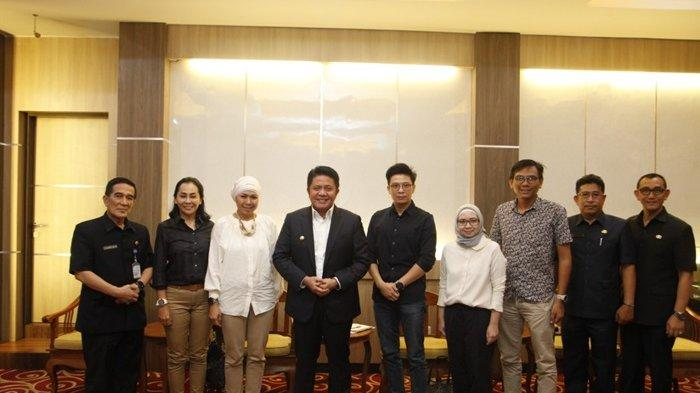 Tuan Rumah Triathlon 2020 , Herman Deru Minta Tambah Gaung Triathlon Hingga Kepelosok Desa