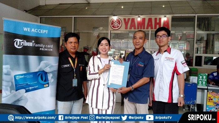 Service di Yamaha A Rivai Palembang Gratis Busi dan Creambath, Bagi Member Tribun Family Card (TFC)
