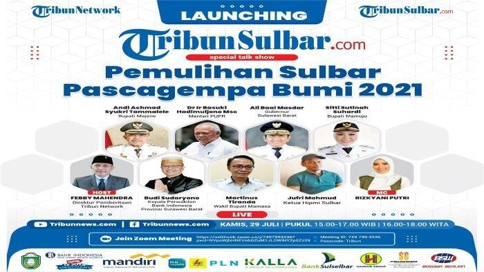 Sejak Covid-19 Tribun-Sulbar.com Jadi Newsportal Lokal Ke-7 di Launching Total Ada 53 Tribun Network
