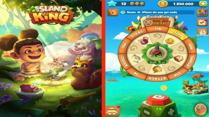 Trik & Cara Mudah Dapat Duit dari Games Island King, Cukup Lakukan Misi Ini, Uang Ditukar Via GoPay
