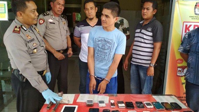 Tiga Jam Bobol Dinding Konter, Maizal Gasak 70 Unit Ponsel
