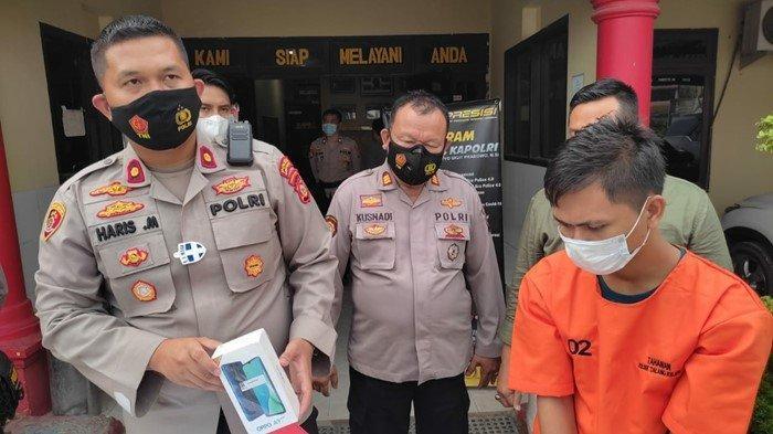 Gugup Lihat Polisi, Warga Kalidoni Palembang Ini Rupanya Habis Beraksi di Banyuasin: Buat Beli Susu