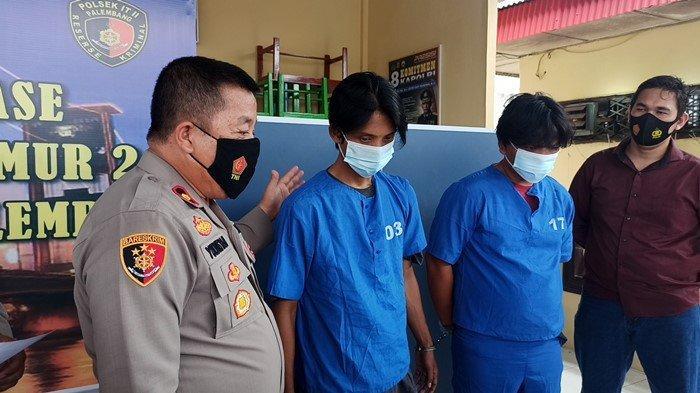 Pengakuan Tersangka Pencuri Papan Bunga Ucapan di Palembang, Semalam Gasak 14 Papan Karangan Bunga