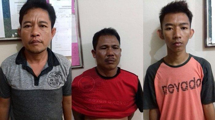 Penjudi Dadu Kuncang Kalang Kabut Digerbek Polisi, Tiga Warga Lais Diamankan