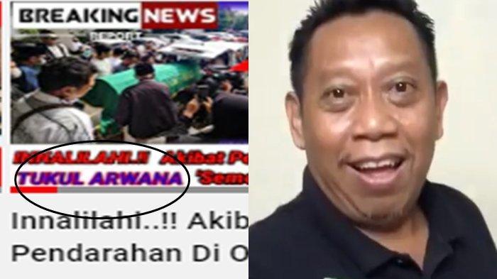 Tukul Arwana Dikabarkan Meninggal Dunia, Kondisi Pasca Jalani Operasi Terungkap, Hoax!