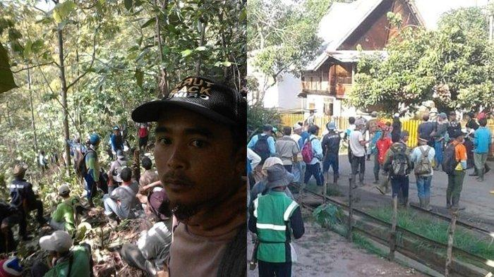 Warga Desa Pajar Bulan Temukan Tulang yang Sudah Hancur, Diduga Milik Asfani