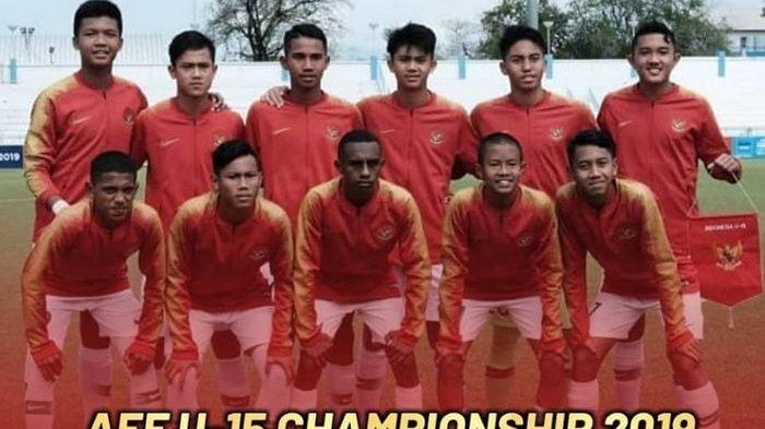 SIARAN LANGSUNG Timnas U15 Indonesia vs Thailand Piala AFF U15 2019, Live Streaming SCTV di Sini