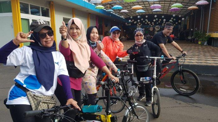 Komunitas Sepeda TVRI Sumsel