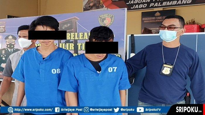 2 Pemuda Asal Lubuklinggau Ini Beraksi Begal di Palembang, Pukul Kepala Driver Ojol Pakai Kayu Balok