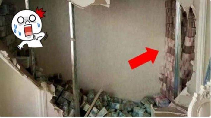 Beli Rumah Tua, Saat Bongkar Dinding Wanita Ini Syok Lihat Isinya dan Segera Lapor Polisi, Ternyata
