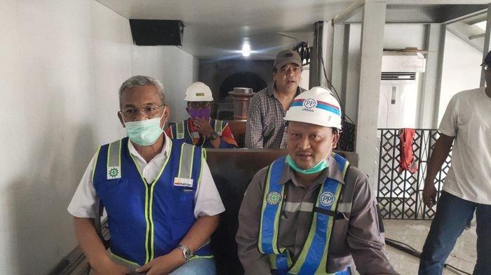 Progres Pembangunan Museum Batu Bara Capai 95 Persen, Replika Kereta Api Diujicoba Operasional