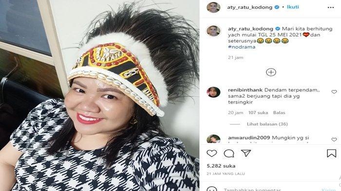 Unggahan menohok Aty Kodong