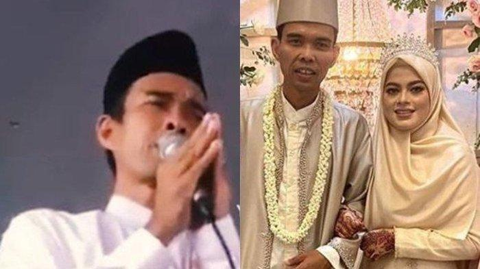 Ceramah Perdana Pasca Menikah, Ustaz Abdul Somad 'Digoda' Jemaah Wanita, Sontak Semua Tertawa Geli!