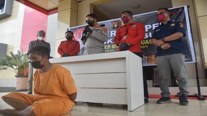 Buronan Penyalahgunaan Sabu di Muba Ditangkap di Pondok Sawah, Barang Buktinya Senilai 30 Juta