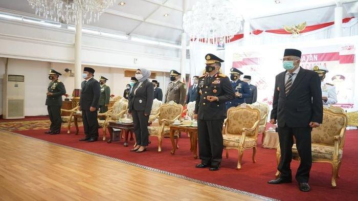 Ikuti Upacara Kesaktian Pancasila Virtual Bareng Presiden Jokowi, Berikut Amanat Herman Deru
