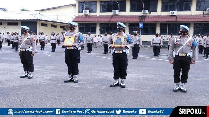 14 Polisi Dipecat, PTDH Dipimpin Kapolda Sumsel, 12 Anggota Terbukti Narkoba dan 2 Anggota Disersi