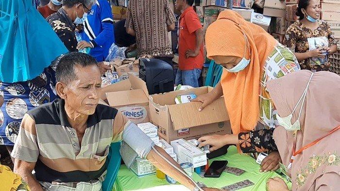 UPDATE Banjir di Pasenan Musi Rawas: Petugas Kesehatan Berjibaku, Warga Mulai Diserang Gatal-gatal