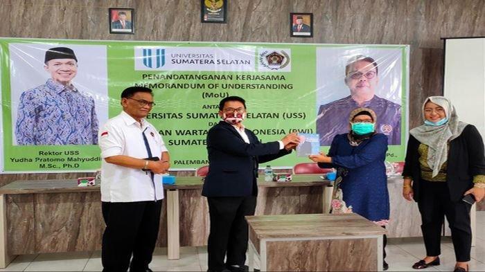 Universitas Sumatera Selatan (USS) Jalin Kerjasama dengan PWI Sumsel, Ciptakan Sarjana Entrepreneur