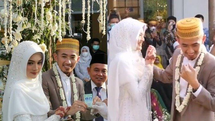 Tak Pernah Pamer Pasangan Kini Nikah Tanpa Pacaran, Ustaz Syam dan Istri Malu-malu Saat Berhadapan