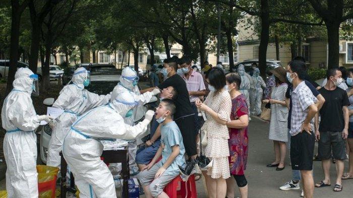 CHINA Panik, Kasus Covid-19 Kembali Naik Usai Anak SD Terpapar: Orangtua Pulang dari Singapura