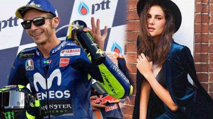 Valentino Rossi dan Francesca Sofia Novello.