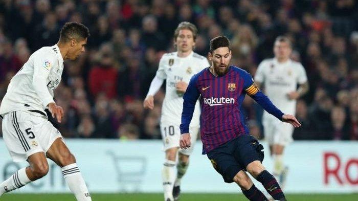 Live Bein Sports El Clasico Real Madrid vs Barcelona, Hazard & Bocah Ajaib Absen, Pique Pulih Cepat