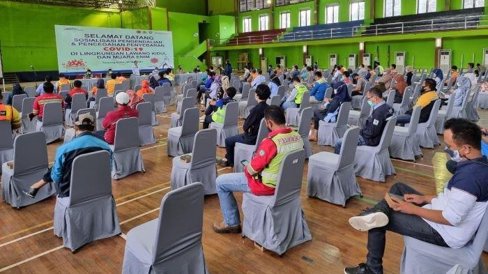 Vendor & Kontraktor PTBA Ikuti Sosialisasi Pengendalian dan Pencegahan Covid-19