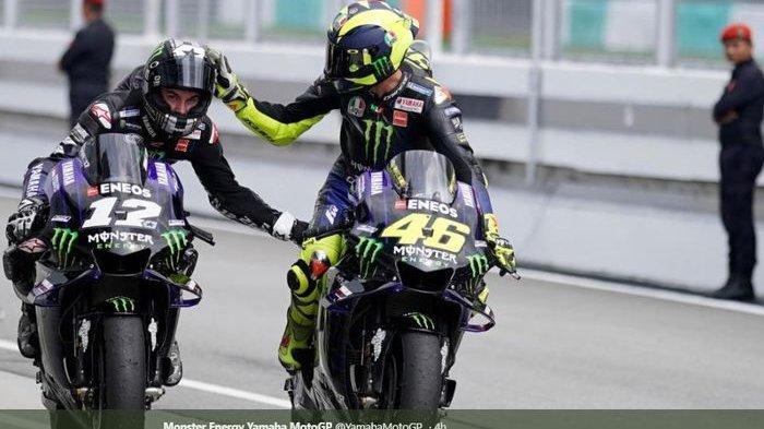 Rossi Ungkap Alasan Kenapa Dia Lebih Baik dari Vinales di MotoGP San Marino 2020