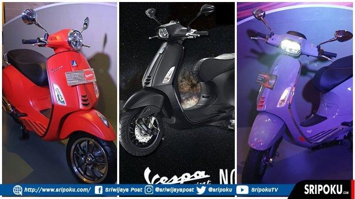 Piaggio Indonesia Resmi Luncurkan Vespa Notte 150, Tampil Menawan dan Limited Edition di Palembang