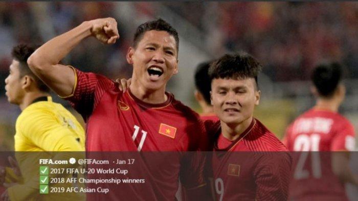Hasil Piala Asia 2019 - Vietnam Lolos ke Perempat Final, Thailand Disetop China