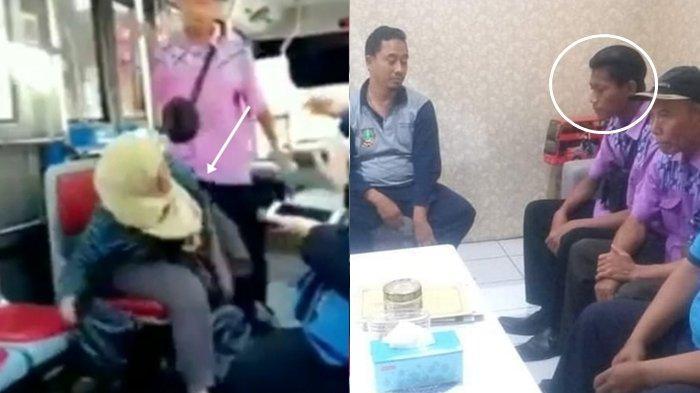 Viral Ibu Dihajar Kondektur Gegara Ongkos Kurang, Kejadian Sebenarnya Terungkap, Nasibnya Malang!
