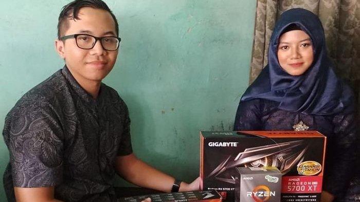 VIRAL Pria Ini Lamar Kekasihnya dengan Seperangkat PC Gaming, Malam Pertamanya Diledek