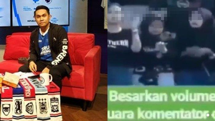 VIRAL VIDEO Komentator Sepak Bola Lecehkan Suporter Perempuan, Rama Sugianto Minta Maaf Ngaku Khilaf