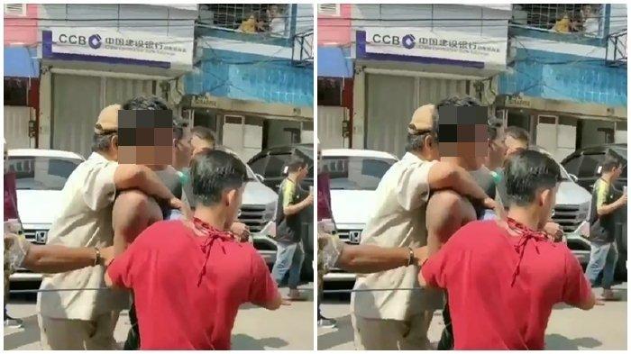 Viral Video Seorang Copet di Pasar 16 Ilir Palembang Dihajar Massa, Resedivis dari Muarenim