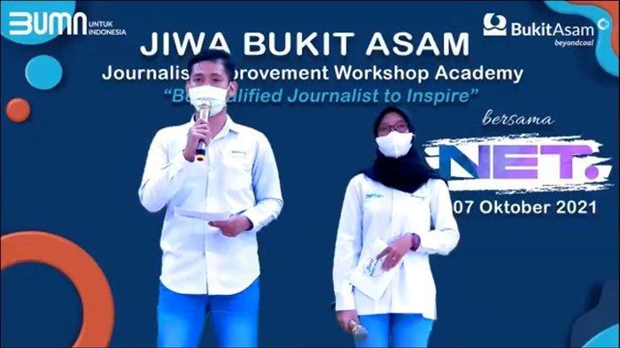 PT Bukit Asam Tbk (PTBA) terus menjalin hubungan yang baik dengan insan jurnalis. Kali ini, melalui virtual workshop yang digelar Satuan Kerja Humas, Komunikasi, dan Administrasi Korporat mengangkat tema