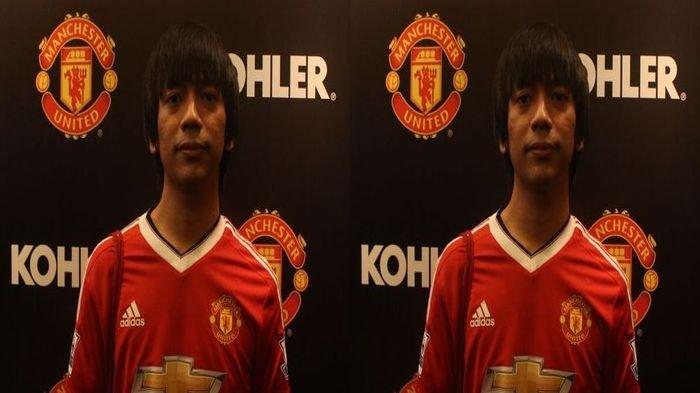 Hadiri Peluncuran Jersey Manchester United (MU) Terbaru, Ini Komentar Rian D'Masiv