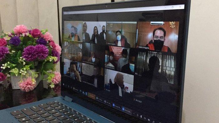 Mantan Anggota DPRD Palembang Dituntut Hukuman Mati, Hakim belum Siap Baca Vonis Pemilik 4 Kg Sabu