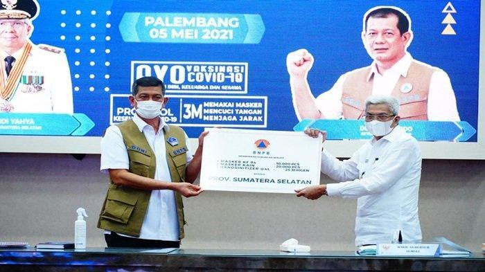 MY Hadiri Arahan Ketua BNPB Terkait Penanganan Covid-19 di Sumsel