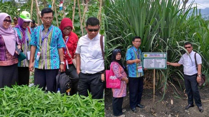 Motivasi Para Petani, Wabup Muratara Kunjungi Lokasi Penas KTNA di Aceh