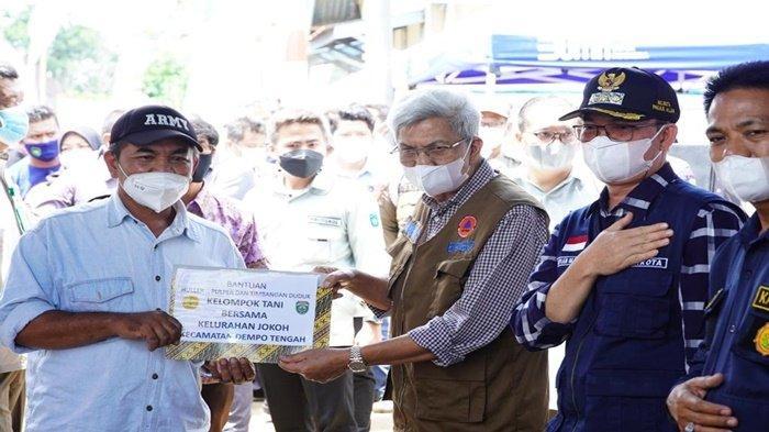 Bantuan Gubernur Sumsel Satu Juta Bibit Sambung Pucuk Terbanyak Tanaman Kopi Tembus Rekor MURI
