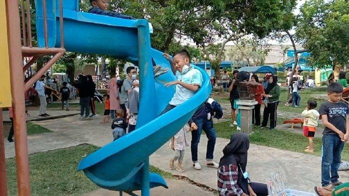 Wahana Bermain Anak-anak di OKU, Ajak Saja Mereka Datang ke Taman Kota Baturaja, Biaya Terjangkau
