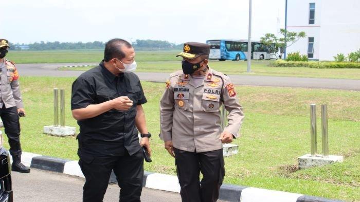 Rangkaian Sertijab Kapolda Sumsel Toni Harmanto dari Eko Indra Heri Ditiadakan, Ini Kata Kabid Humas