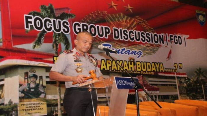 Wakapolda Sumsel Buka Focus Group Discussion dengan Tema 'Tujah Apakah Budaya?'