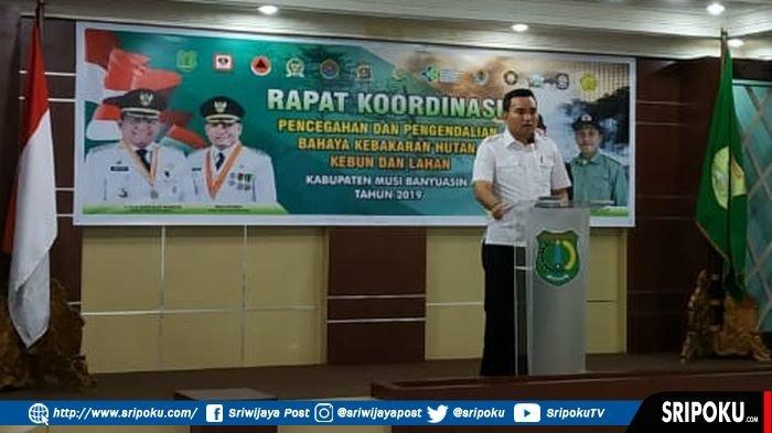 Kecamatan Bayung Lencir Terdampak Parah Karhutla 2018, BPBD Muba Terjunkan 133 Satgas TRC