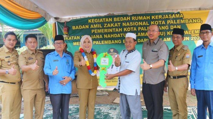 Fakhrurizal : Terima Kasih Pemkot Palembang Sudah Perbaiki Rumah Kami