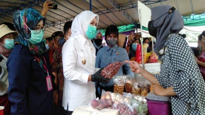 10 Hari Lagi, Wakil Walikota Palembang Fitrianti Agustinda Imbau Warga Datang ke Bazar Sembako Murah