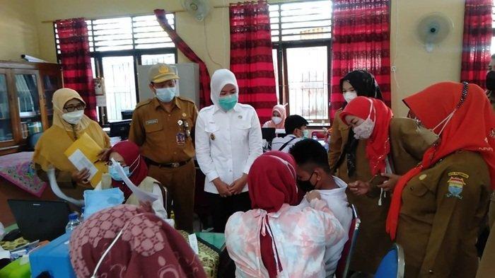 Vaksinasi Pelajar di Palembang, Wawako Target Akhir Tahun Tercapai 70 Persen