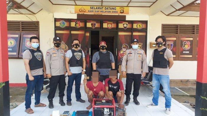 2 Pencuri Sarang Burung Walet di OKI Ditangkap Macan Komering, Seorang Pelaku Warga Banyuasin